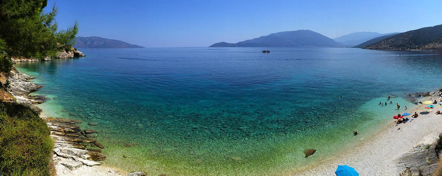 The Dazzling Turquoise Waters of Agia Efimia