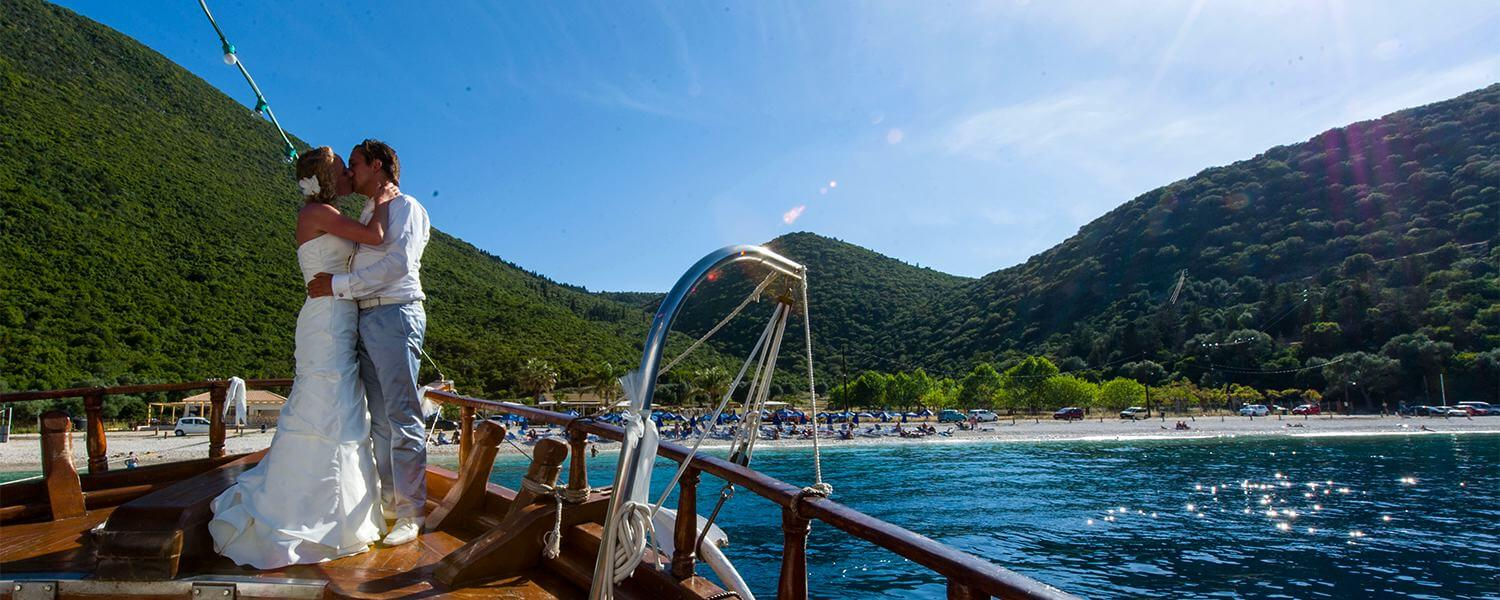 Book your Dream Wedding in Kefalonia with us!